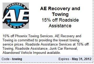 Towing Coupon